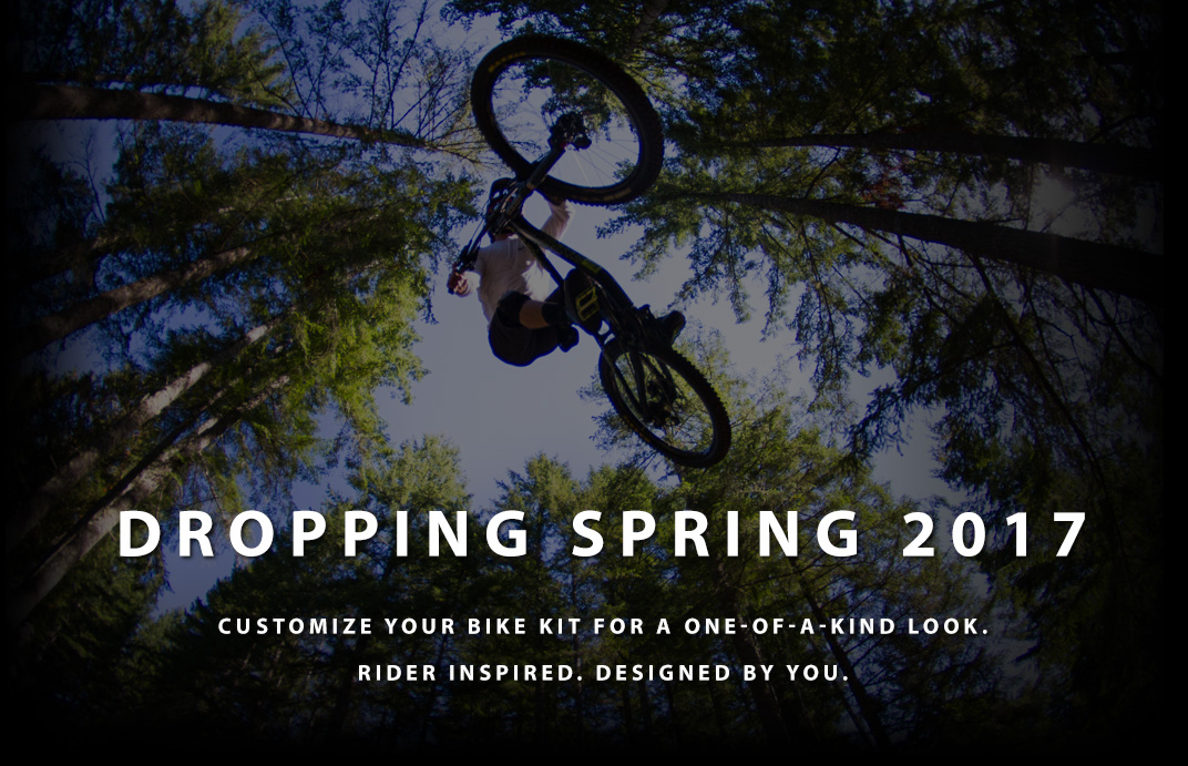Customizable mountain bike gear coming Spring 2017