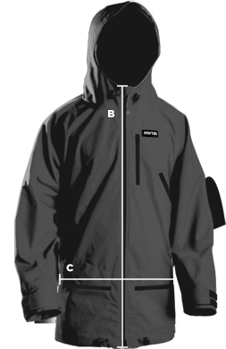 jacket measurement reference